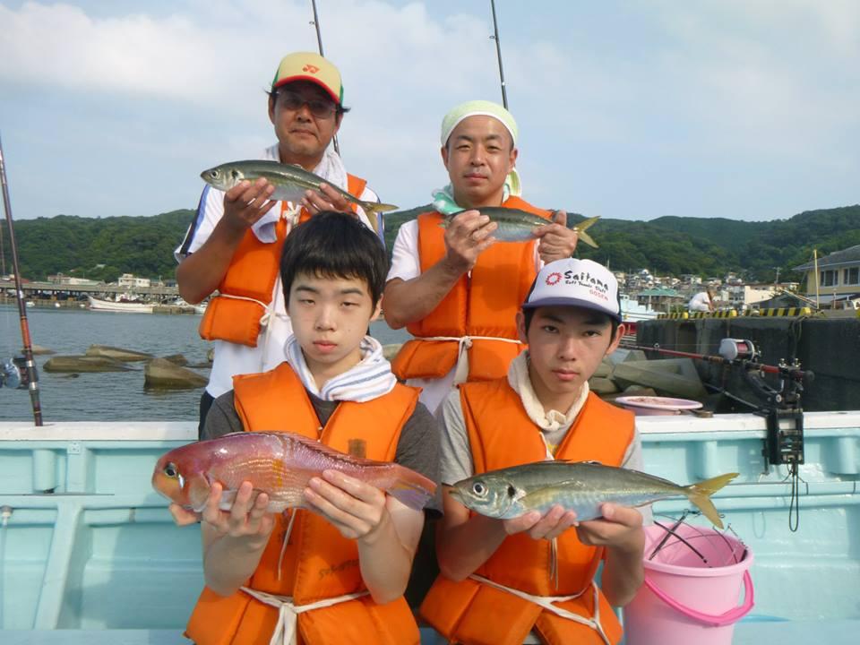 釣り教室 マダイ五目