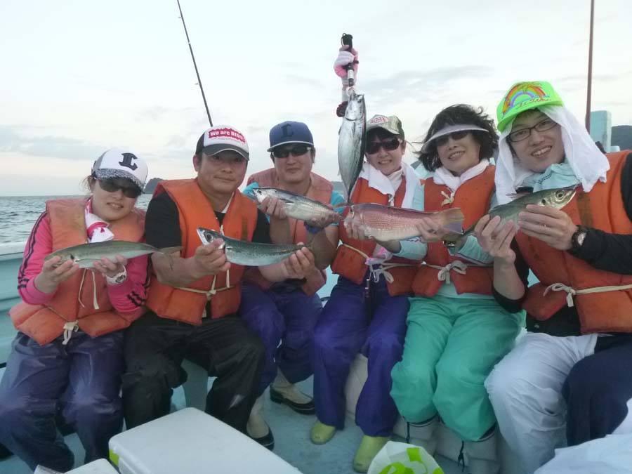仕立船 マダイ五目