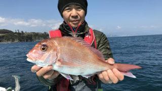 乗合マダイ五目 3/12午前
